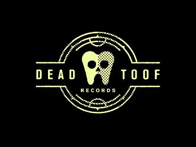 Dead Toof label music records logo tooth skull