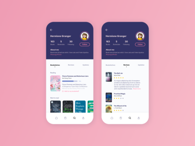Daily UI #6 — User Profile