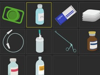 Medication and Equipment Icons