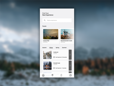 Experience Mobile App UI/UX Design ux design uxdesign ux  ui ui  ux uidesign ui design uiux uxui ui ux travelling travel agency traveling travel app travel mobile design mobile ui mobile app design mobile app mobile