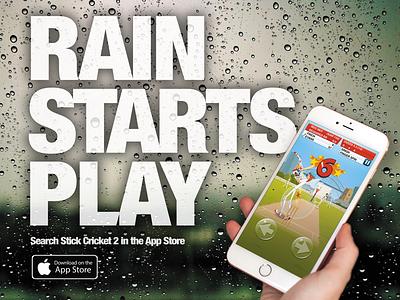 Stick Cricket 2 Advert advert press