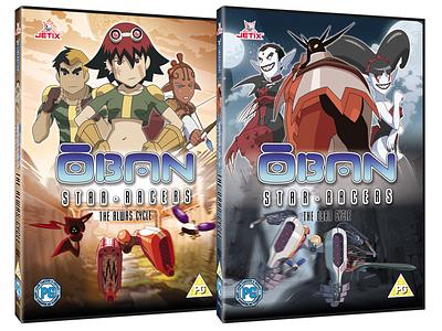 Oban Star Racers design dvd