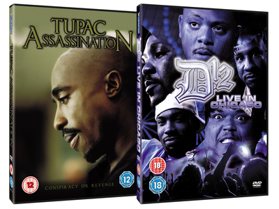 Tupac / D12 design dvd