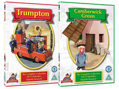 Trumptonshire design dvd