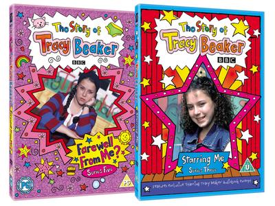Tracy Beaker design dvd