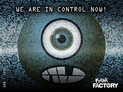 Freak Factory illustration advert