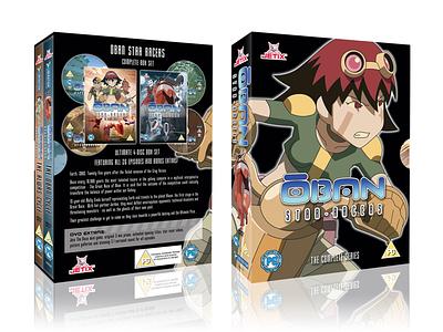 Oban Box Set design dvd