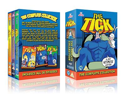 The Tick illustration design dvd