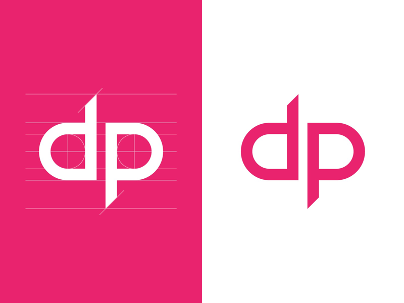 DP Logo logo typeface font