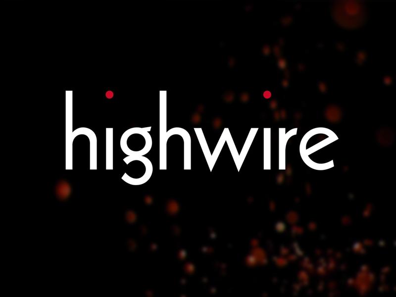 Highwire Films identity logo