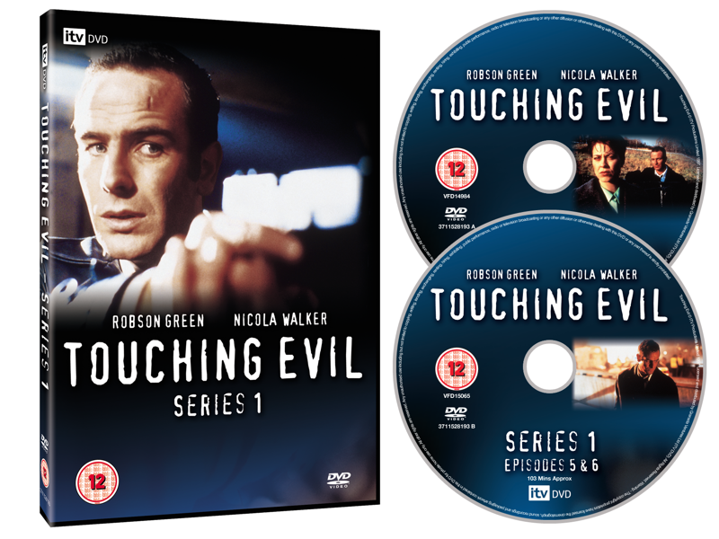 Touching Evil packaging design dvd