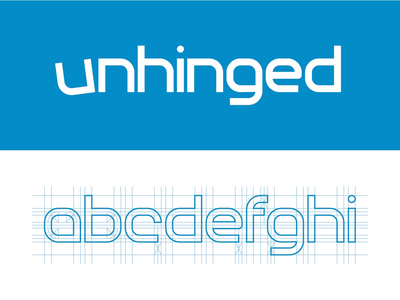 Unhinged Typeface