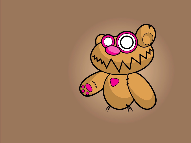 Don't Care Bear illustration