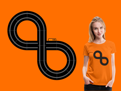 Scalextric 8 design t-shirt
