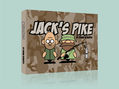 Jack's Pike (Front) comic character illustration