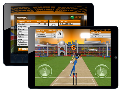 Stick Cricket SPL game graphics mobile