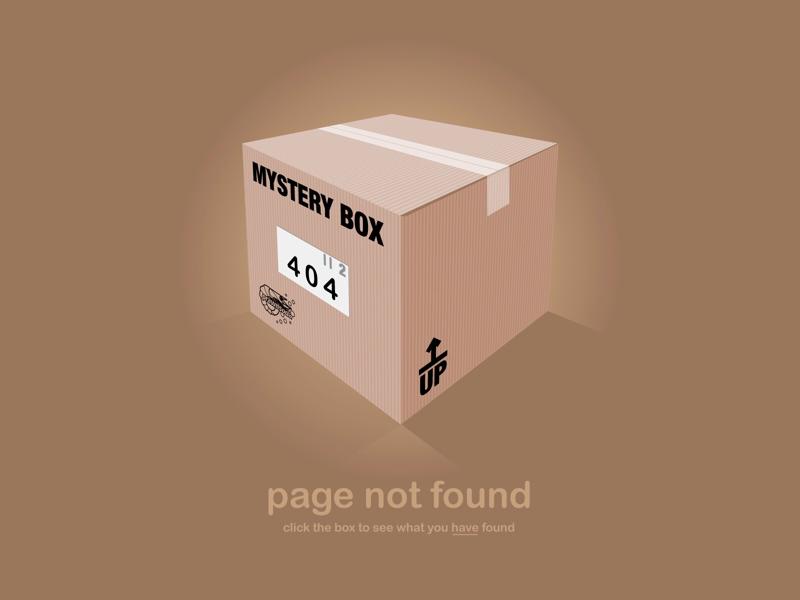 Mystery Box 404 404