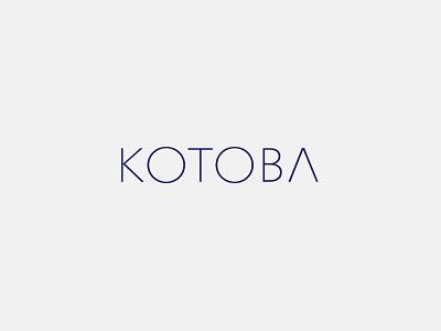 Kotoba Identity branding identity logo