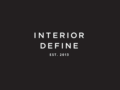 Interior Define graphic design branding identity visual identity logo design icon design typography environmental signage