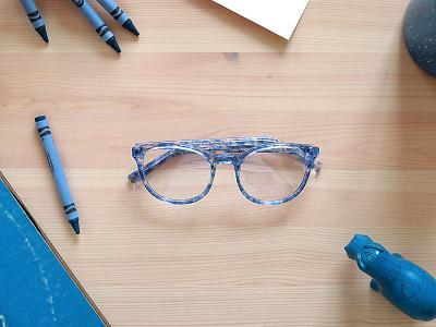 Warby Parker Blog art direction web