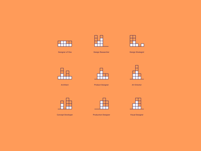 The Spectrum game app building blocks illustration icon ux design ux