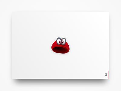 Why Play: Super Mario Odyssey menu game illustration eyes hat vector nintendo mario ui ui deisgn