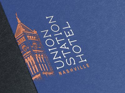 Union Station Hotel Logo lettering type treatment logotype logo hotel