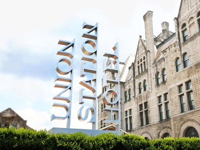 Union Station Hotel Nashville - Exterior Signage hotel everybody hotel hospitality signage