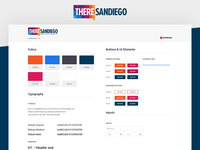 ThereSanDiego - Style Guide