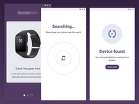 Wellness Watch - App UI