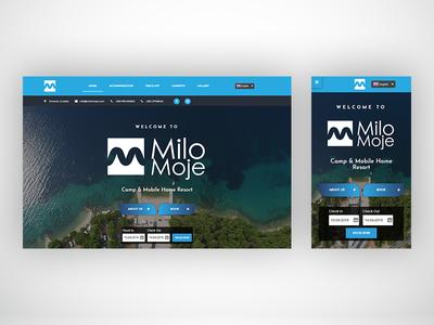 MiloMoje web site