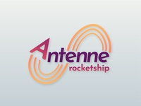 Daily Logo Challenge  001 Antenne Rocketship Logo