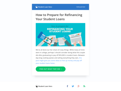 Student Loan Hero - Emails