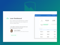 Student Loan Hero - New Homepage (Feature + Testimonial)