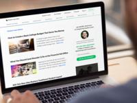 Student Loan Hero - New Blog Index (desktop)