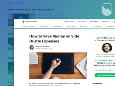 Student Loan Hero - New Blog