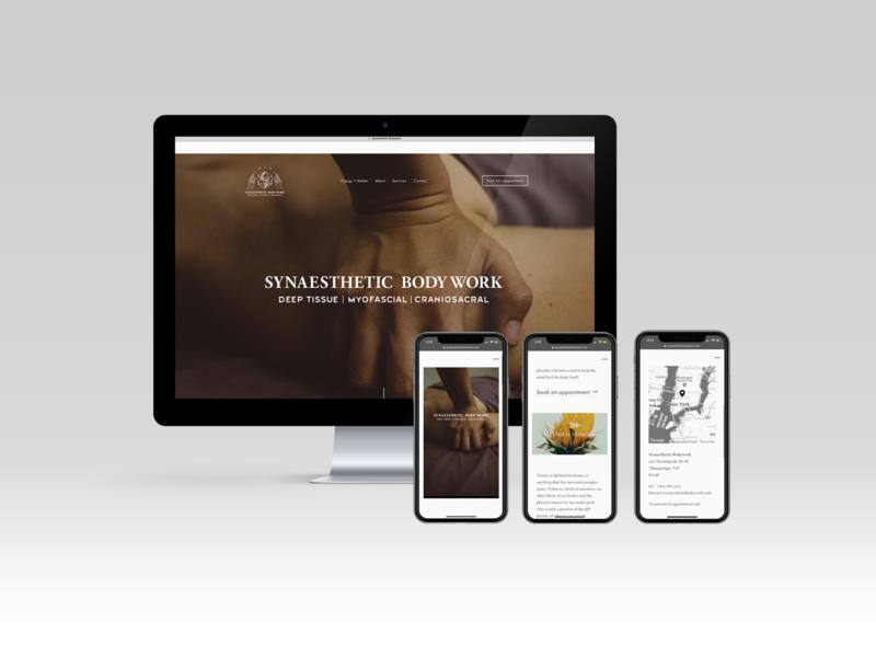 Synaesthetic Body Work Website