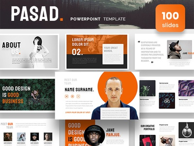 Pasad Powerpoint Presentation Template by Azad on Dribbble