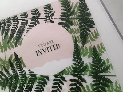 Colorado Wedding Invitation Idea