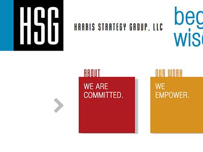 Harris Strategy Group Wordpress site