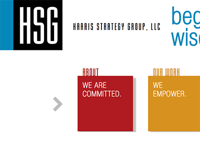 Harris Strategy Group Wordpress site
