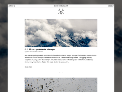 XV - Home Page