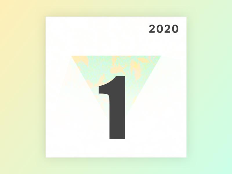 Jan. 2020 geometry photoshop sketch blender album playlist artwork cover music design personal minimal winnipeg