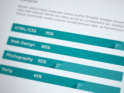 Flat Progess Bar flat progress bar web design web element green erdis driza fold ui