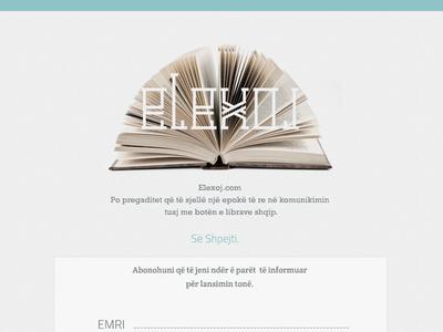 elexoj coming soon page