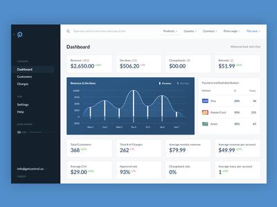 Dashboard Concept ux ui design concept dashboard dash app web
