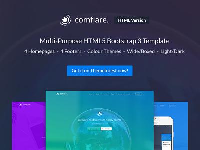 Comflare - Agency / App Multi Purpose Website theme website multi purpose comflare now buy