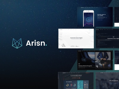 Arisn free download corporate business landing app template theme bootstrap html5