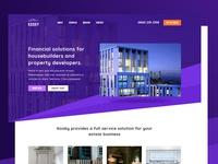 Branding web concept