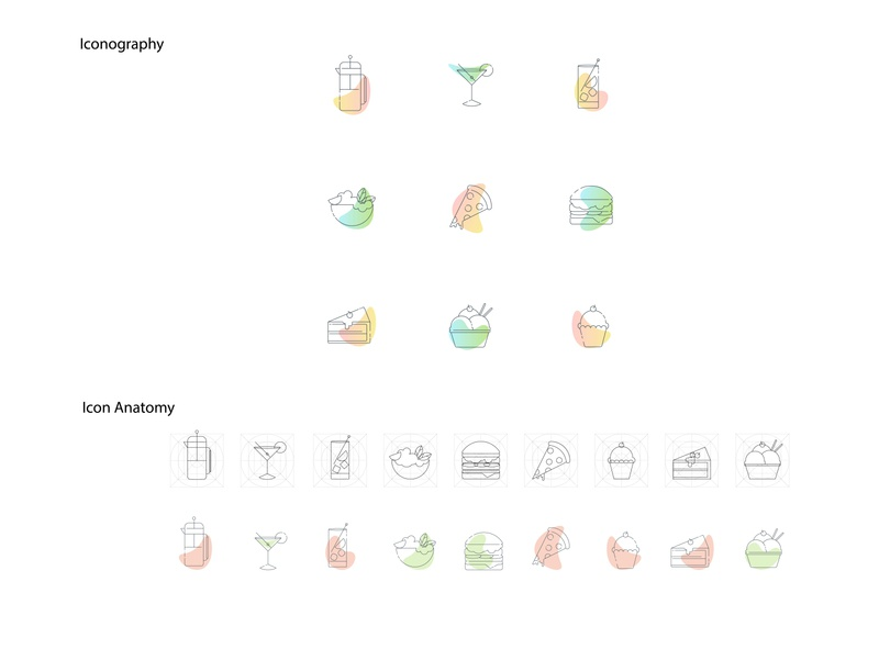 Iconography Study01 illustration data website graphic  design vector design flat icon design study iconset iconography icons icon